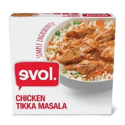 Evol Gluten Free Frozen Chicken Tikka Masala - 9oz