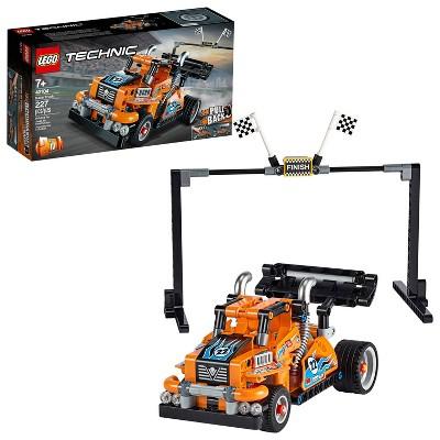 LEGO Technic Race Truck Pull-Back Model Building Kit 42104