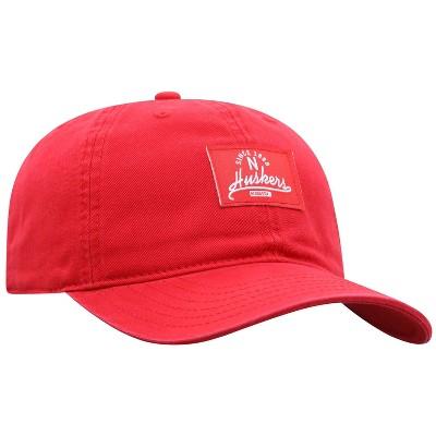 NCAA Nebraska Cornhuskers Men's Dez Garment Washed Canvas Hat