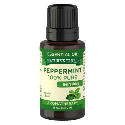 Natures Truth Peppermint Aromatherapy Essential Oil - 15ml
