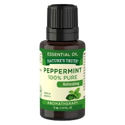 Nature's Truth Peppermint Aromatherapy Essential Oil - 15ml