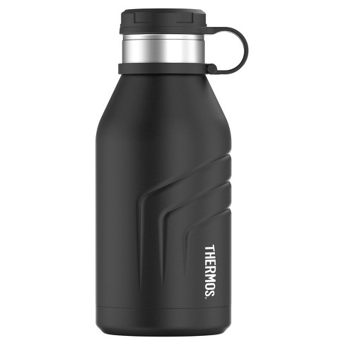 Thermos 32oz Vacuum Insulated Hydration Bottle with Screw Top - Black - image 1 of 1