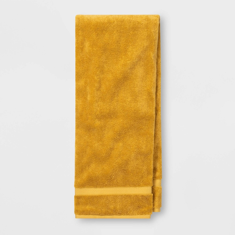Image of Bath Towel Perfectly Fall Yellow - Opalhouse