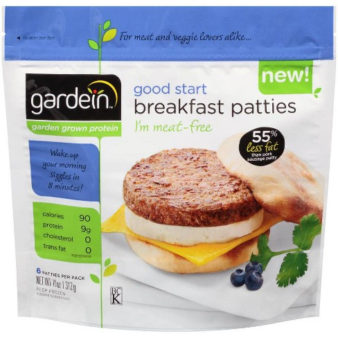 Gardein Good Start Frozen Breakfast Patties - 11oz - image 1 of 2
