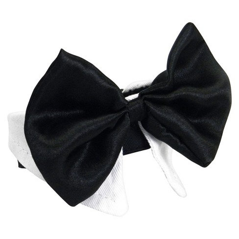 Pet Bow Tie Dog Costume - Black - image 1 of 3