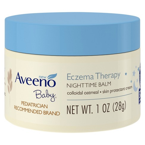 Aveeno Baby Eczema Therapy Nighttime Balm with Natural Oatmeal - 1oz - image 1 of 5