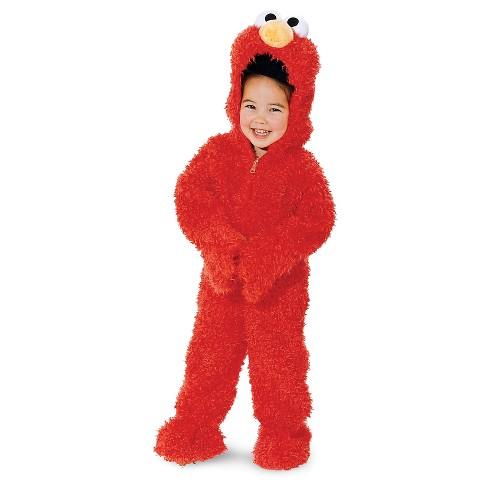Elmo Sesame Street Elmo Plush Deluxe Toddler Costume - 3-4T - image 1 of 1