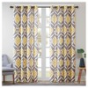 Catori Printed Ikat Window Curtain Panel - image 2 of 3