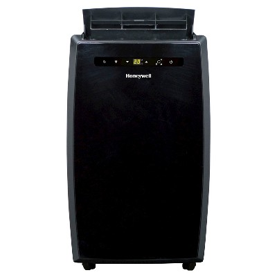 Honeywell - 12000-BTU Portable Air Conditioner with Remote Control - Black