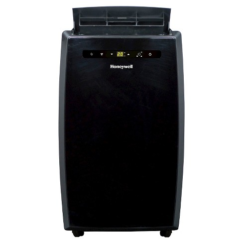 Honeywell -  12000-BTU Portable Air Conditioner with Remote Control - Black - image 1 of 4