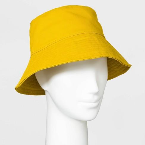 Women's Bucket Hat - Wild Fable™ Yellow - image 1 of 1