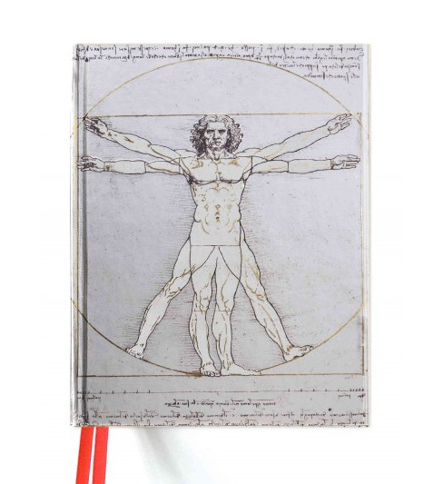Vitruvian Man Blank Sketch Book (Hardcover) - image 1 of 1