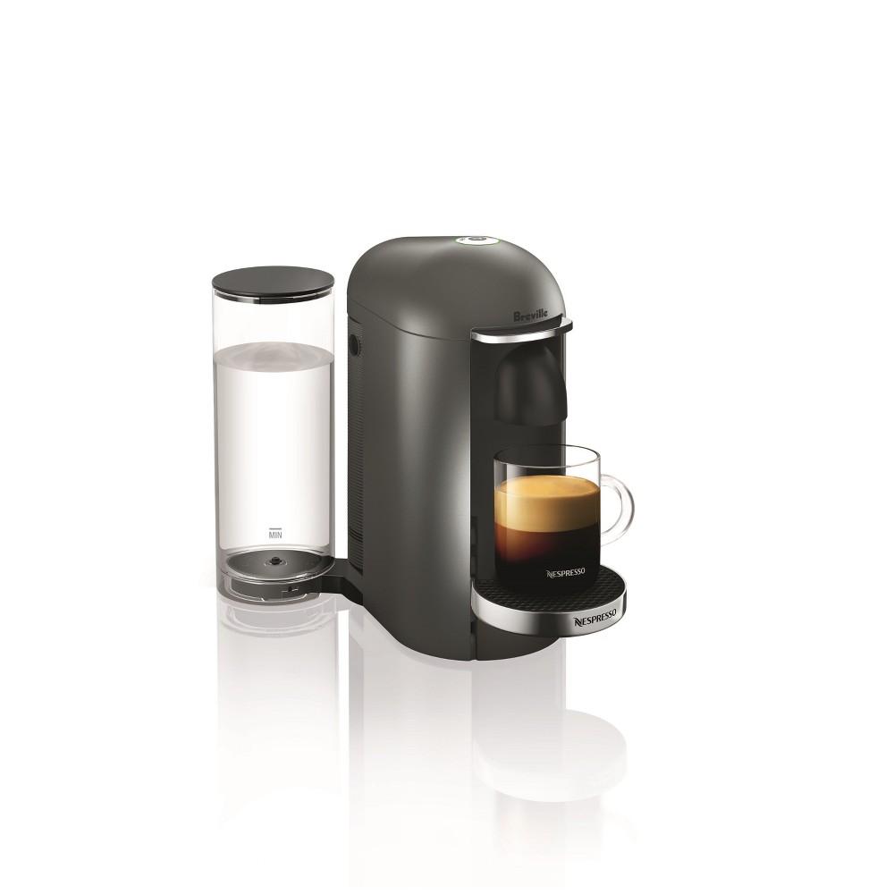 Nespresso VertuoPlus Titan Deluxe by Breville, Dark Silver 53030177