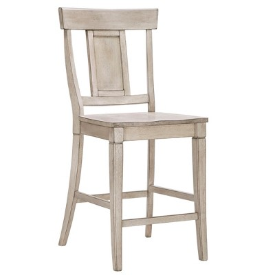 "Set of 2 24"" South Hill Panelled Back Counter Chair - Inspire Q"