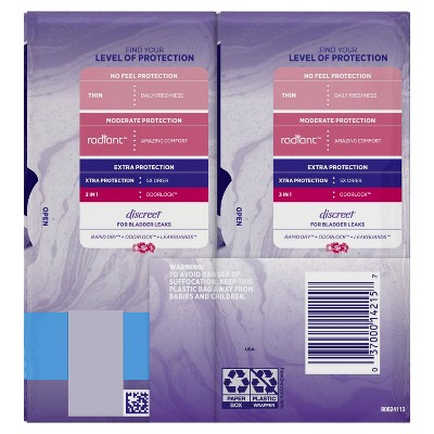 Always Xtra Protection Daily Liners Regular - Unscented - 100ct : Target