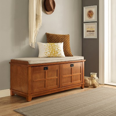 Adler Entryway Storage Bench - Crosley