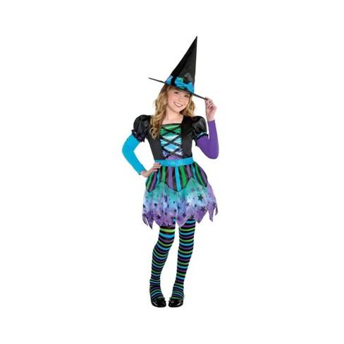 Girls' Spell Caster Halloween Costume S