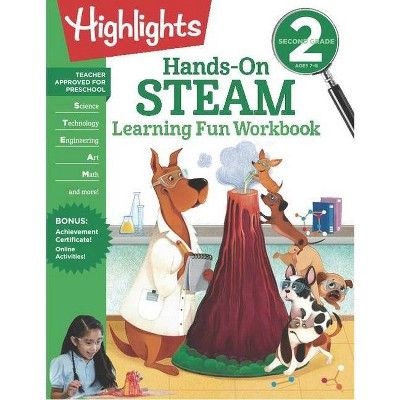 Second Grade Hands-On Steam Learning Fun Workbook - (Highlights Learning Fun Workbooks) (Paperback)