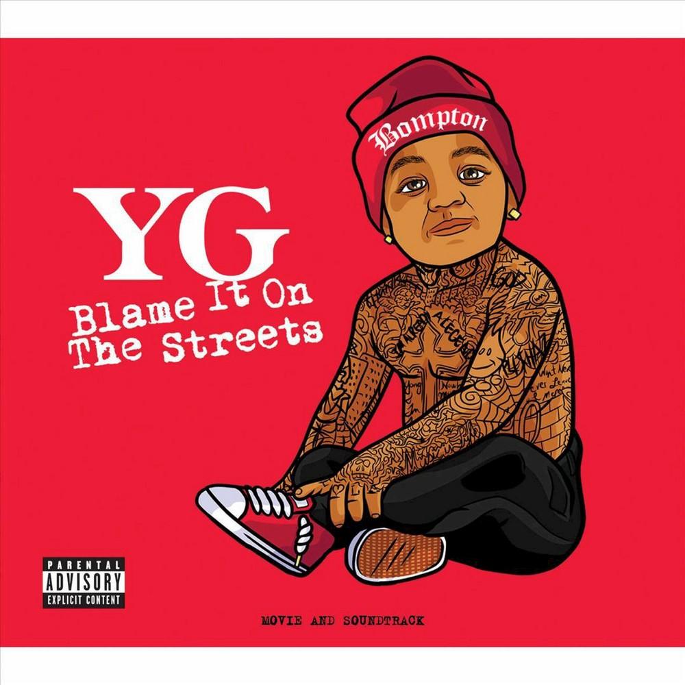 Blame It on the Streets (CD/Dvd) [Explicit Lyrics]