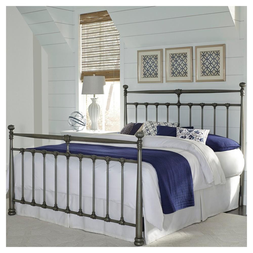 Kensington Bed - Vintage Silver - King - Fashion Bed Group