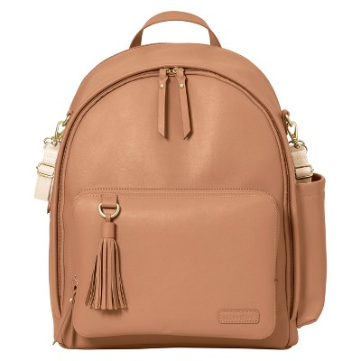 Skip Hop GREENWICH Simply Chic Diaper Backpack - Caramel