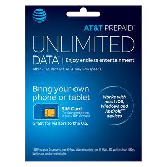 AT&T Prepaid SIM Card Kit