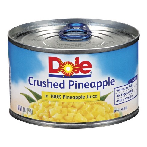 Dole Crushed Pineapple in Juice 8 oz - image 1 of 1