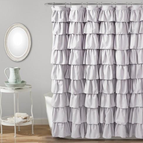 Lush Dcor Large Ruffle Shower Curtain Target