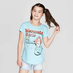 e5eefa26f Toddler Girls' Disney Princess Ariel Short Sleeve T-Shirt - Pink ...