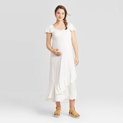 Short Sleeve Knit Maternity Dress - Isabel Maternity by Ingrid & Isabel™