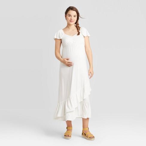 Short Sleeve Knit Maternity Dress - Isabel Maternity by Ingrid & Isabel™ - image 1 of 2