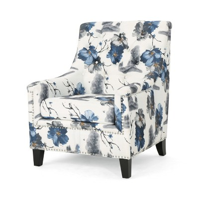 Jaclyn Tufted Club Chair Print - Christopher Knight Home