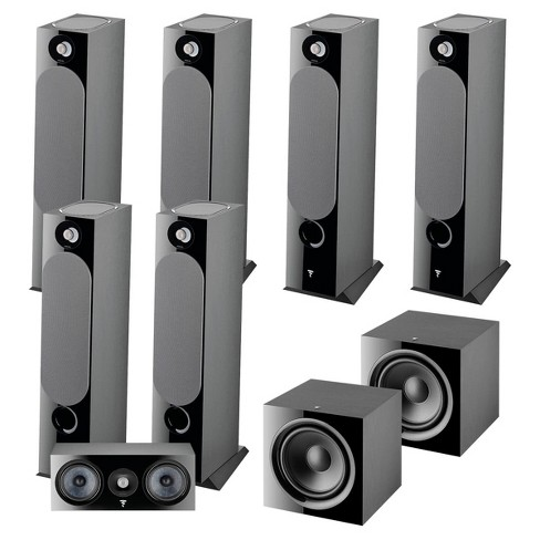 Focal Chora 7.2.6 Channel Dolby Atmos Home Theater System (Black) - image 1 of 4