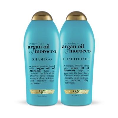 OGX Argan Oil of Morocco Salon Size Shampoo and Conditioner - 2pc/25.4 fl oz