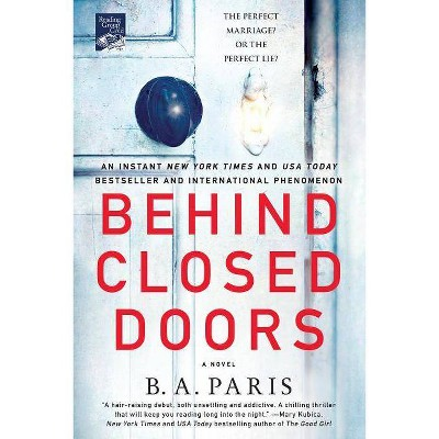 Behind Closed Doors (Reprint) (Paperback) (B. A. Paris)