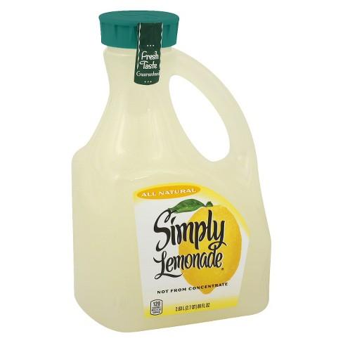 Simply Lemonade - 89 fl oz - image 1 of 3