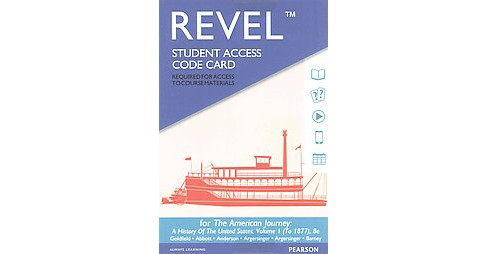 American Journey Revel Access Code : A History of the United States, to 1877 (Student) (Hardcover) - image 1 of 1