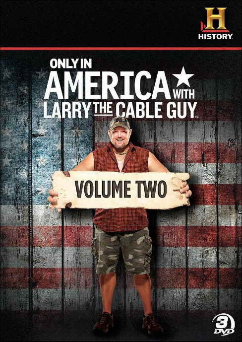 Only In America With Larry V2 (DVD) - image 1 of 1