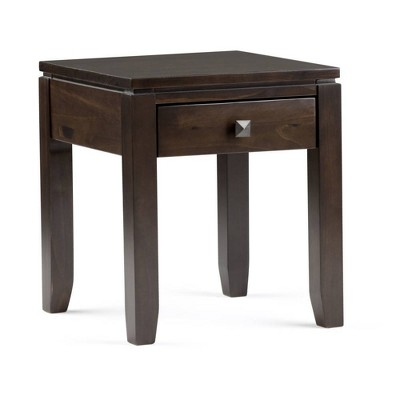 Essex Solid Wood End Table - Wyndenhall