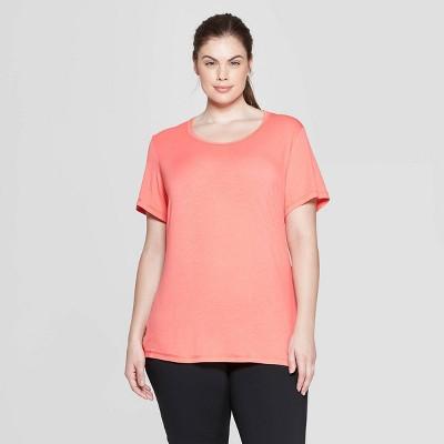 f6b64b1b6a21 Women s Plus Size Short Sleeve Draped T-Shirt - C9 Champion®