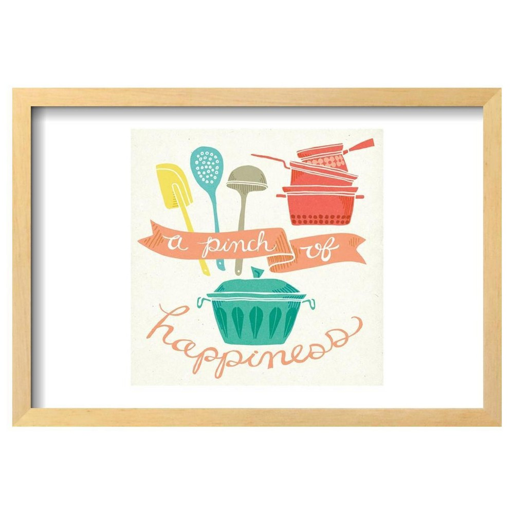 A Pinch of Happiness by Mary Urban Framed Poster 19