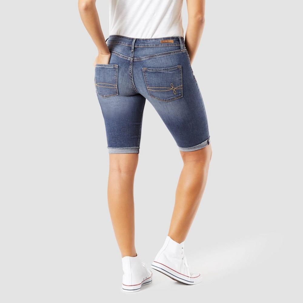 Denizen from Levi's Women's Modern Skinny Jean Shorts - Medium Wash 6, Blue