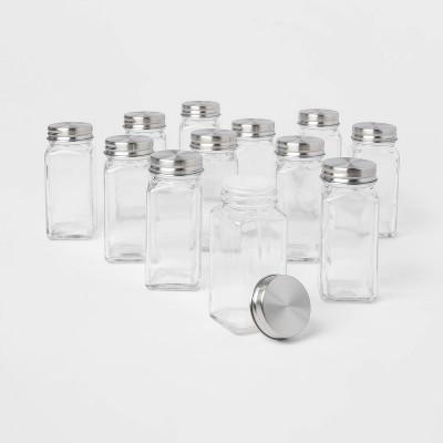 3oz 12pk Square Spice Jar Set - Threshold™