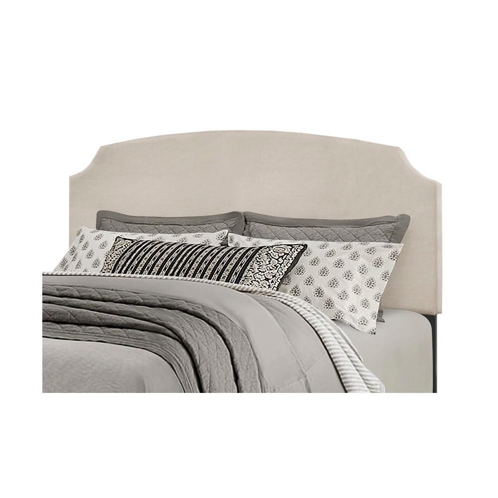 Full/Queen Desi Headboard Frame Included Fog - Hillsdale Furniture