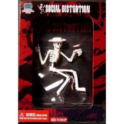 """Stevenson Entertainment Social Distortion Skeleton 7"""" Figure"""