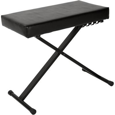 Musician's Gear KS-515-MG Deluxe Keyboard Bench