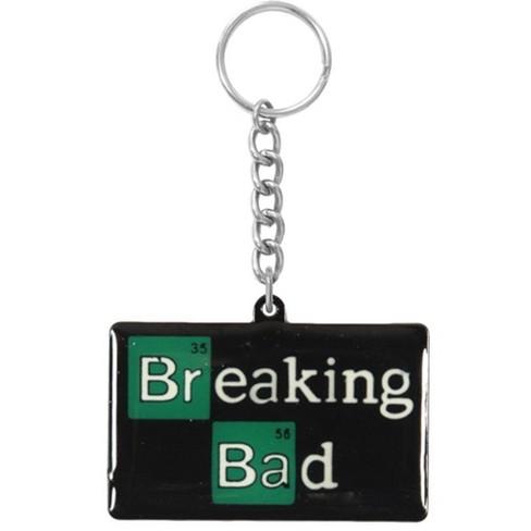 Just Funky Breaking Bad Logo Metal Keychain - image 1 of 1