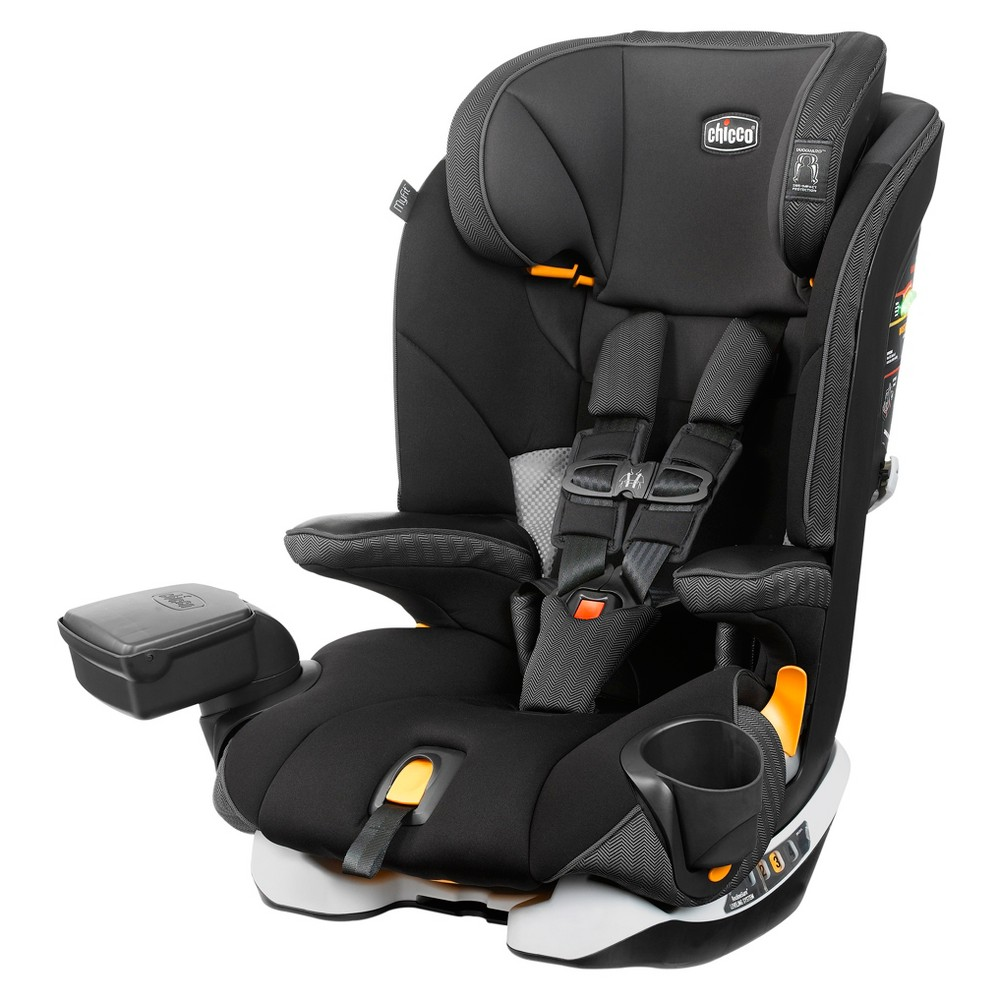 Image of Chicco MyFit LE Harness Booster Car Seat - Anthem, Black
