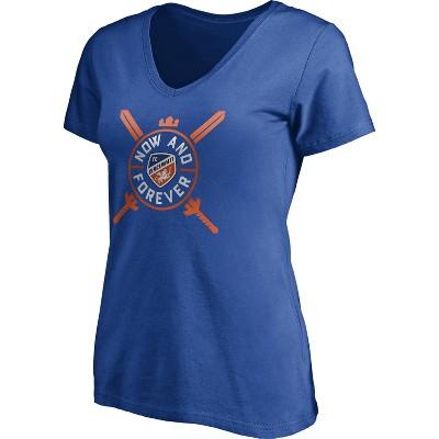 MLS FC Cincinnati Women's Short Sleeve V-Neck T-Shirt