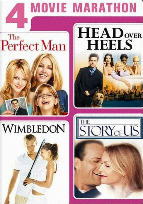 4 Movie Marathon: The Perfect Man/Head Over Heels/Wimbledon/The Story of Us [2 Discs] - image 1 of 1
